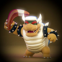 Boomerang Bowser by SmashingRenders