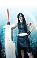 Tifa with Fusion Sword by ladylucienne