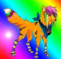 My sparkle dog by Shadowless-Dreamer