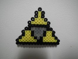 Mini Tri-force Magnet by blargofdoom