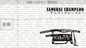 Samurai Champloo - psp_pro by GrimLink