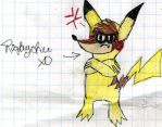 Rigby dressed as Pikachu or Rigbychu XDXDXDXD by YuiHarunaShinozaki