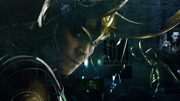 Loki Wallpaper by MissJ-Kurayami