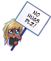No Hugs PLZ by Dea-89