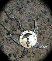 Steampunk 4 Wing Necklace by Lucky978