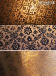 etched pattern on copper by SteampunkProject