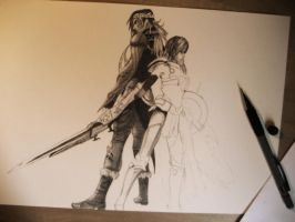 Final Fantasy 13-2 WIP by emicathe
