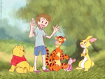 Deep in the Hundred Acre Wood by relyon