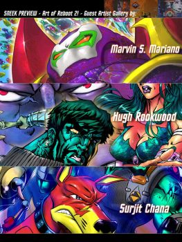 Reboot Artbook - Preview Art by marvisionart