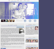 We Heart Klaine Layout on Darren Criss Hungary by Nikrecia