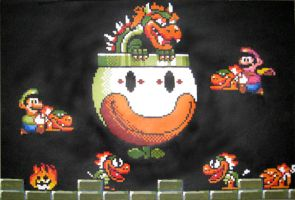 Super Mario World Final Battle by Squarepainter