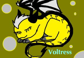 COM: Voltress by Sahirathedragoness