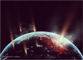 Collision of comets copy by VenusSapphire