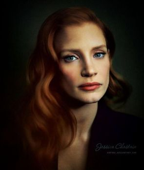 Jessica Chastain by Kot1ka