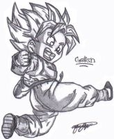 Son Goten by S0N-GOKU