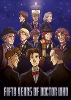 Doctor Who: 50 years of THE DOCTOR by ky-nim