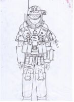 IRS Armed Forces General Infantry Soldier by Target21