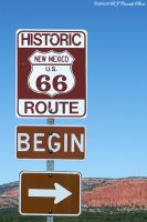 Route 66, New Mexico by rjcarroll