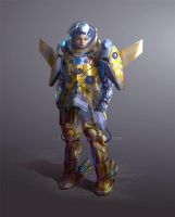 exo EVA space suit by conzitool