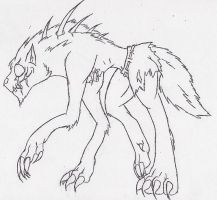 T-virus wolf 1 by psycholiger13