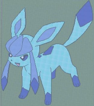 Glaceon In Minecraft by AwesomelyDerped