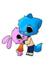 Gumball And Anais by alexdream12