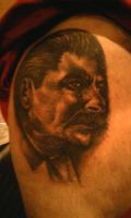 stalin portrait by TatuajesMiguel
