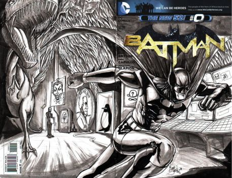 Batman out of the Cave by madd-sketch