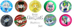 Rise of the Guardians button set by Rena-Muffin