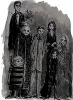The Addams Family by herbertzohl