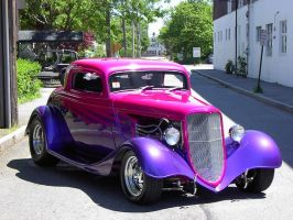 Back Alley Hot Rod by scubatec