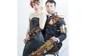 Time Colonist Steampunk Shot by Skinz-N-Hydez