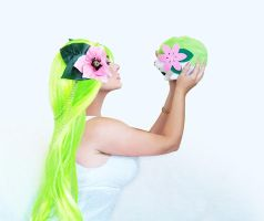 Shaymin Gijinka 01 by HeatherAfterCosplay