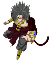 Baby Broly by GokuGarlic