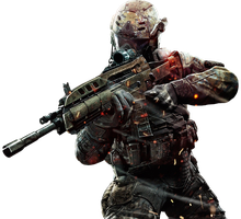 Black Ops 2 Render by OutlawNinja