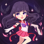 Sailor Mars by Geegeet