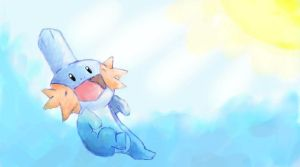 Mudkip by Rin171