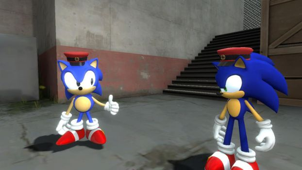 Classic and modern sonicdevil18 by Mariothehero27