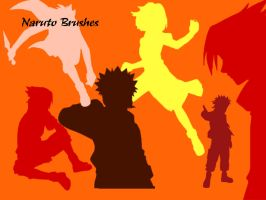 Naruto Brushes::: by KaiPrincess
