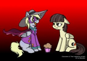 Darkwing Derp and Wild Fire by Blayaden