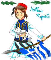 [CONTEST] Hellenic Republic by DorothyBomeraang