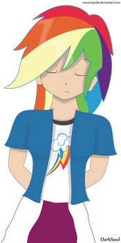 MLP: RD manga front Vector by Mpc46