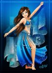 Blue Dancer by Queen-Uriel