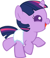 Happy Baby Twilight Sparkle by Mighty355