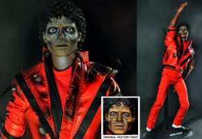 Michael Jackson as zombie by noeling