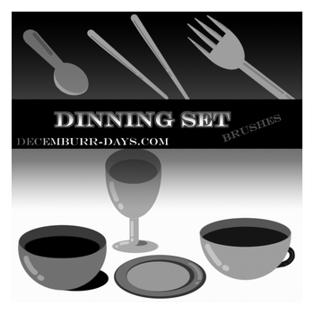 Dinning Set by decemburr-days