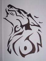 Celtic Wolf by FireGodess18