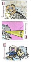Sketch Cards 2 by kettleart