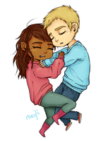 Sleepy Demigod Babies by Rhaylee