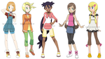 Pokegirls alt outfits 2 by Hapuriainen